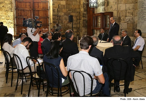 Minister for Finance Edward Scicluna announces the setting up of a Joint Enforcement Task Force-Customs House, Valletta
